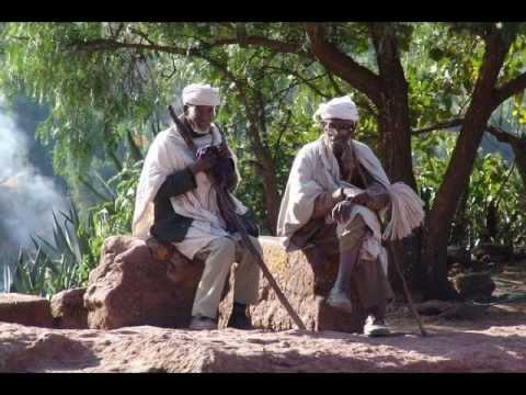 Begena Alemu Aga - Ethiopian Orthodox Tewahedo Song 1 of 4