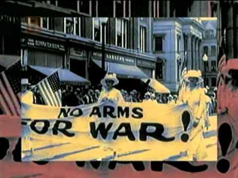 La entrada de USA en la 1a guerra mundial