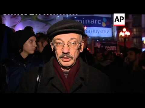 Rally to demand investigation into beating of journalist Oleg Kashin