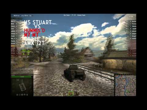 World of Tanks - M5 Stuart