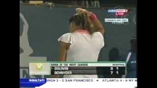 Tatiana Golovin vs. Patty Schnyder 2006 Stanford Semifinal 2/3