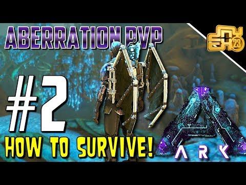 ARK OFFICIAL PVP ABERRATION - S3 EP2 - HOW TO SURVIVE ABERRATION!!!
