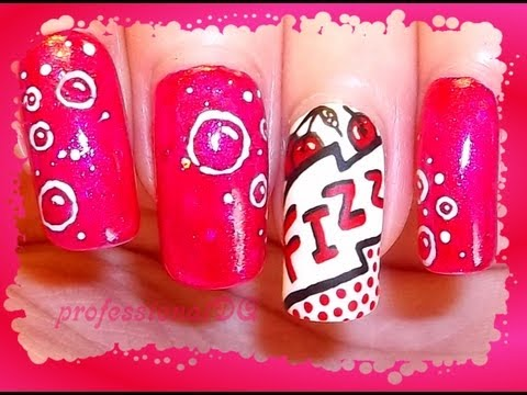 Cherry Pop Art Nails