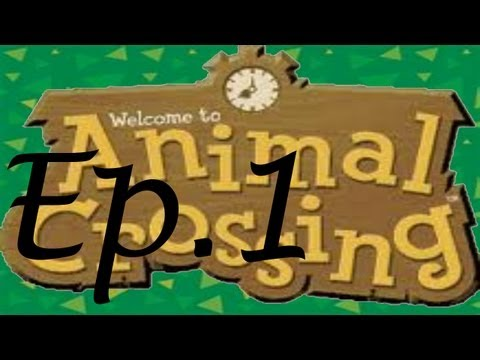Let's Play Animal Crossing (GameCube)! Day 1: New Town!