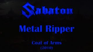 Watch Sabaton Metal Ripper video