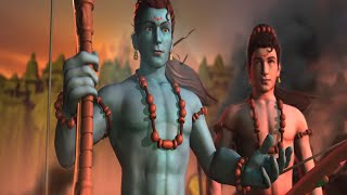 Hanuman vs Mahiravana Official Trailer | New Animated Hindi Movie Trailer | Green Gold