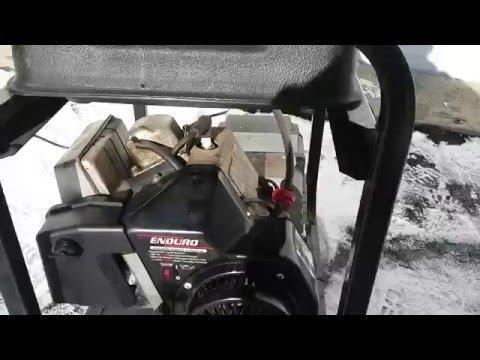 2006 Coleman Powermate Maxa 3000 generator. 5.5HP Tecumseh Enduro OHV engine.