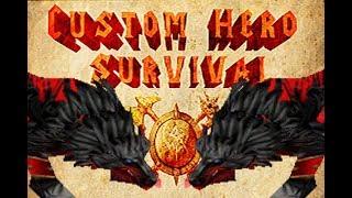 Warcraft 3   Custom Hero Survival 2019   Wolf Build   6 People In Battle Royale
