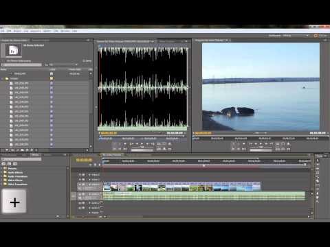 Create Picture Slideshow with music in Adobe Premiere CS5.5 Pt 1 of 2