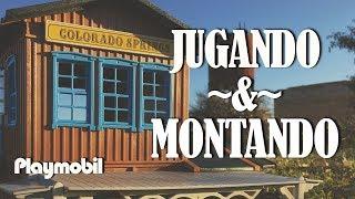 🚂Colorado🛤 Springs PLAYMOBIL---VIDEOS DE JUGUETES---
