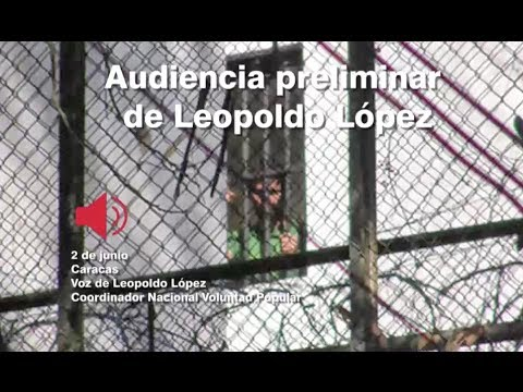 Venezuela: Audio EXCLUSIVO de Leopoldo López