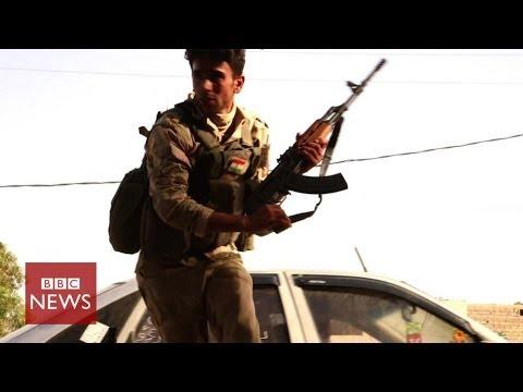 Under fire in Iraq: BBC caught in ISIS gun battle - BBC News