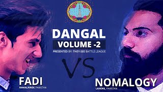 FADI vs NOMALOGY - DANGAL 2 - DESI RAP BATTLE - THEY-SEE BATTLE LEAGUE