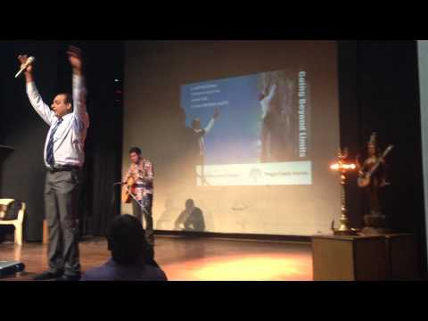 Best Motivational Song Pragati Pathik Ngo Concert- Singing Aashayein On Guitar (iqbal) Bollywood video