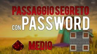 PASSAGGIO SEGRETO CON PASSWORD!! - Tutorial Minecraft ITA