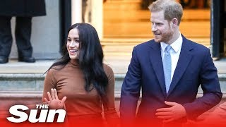 Prince Harry and Meghan Markle quit as senior royals and announce move to Canada