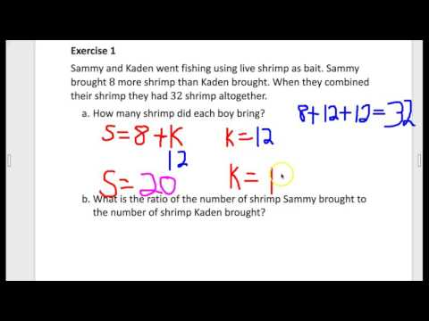 Eureka Lesson 7 Associated Ratios and The Value of a Ratio