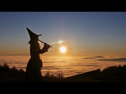 Priscilla Hernandez Flute and singing Improvisation over the clouds