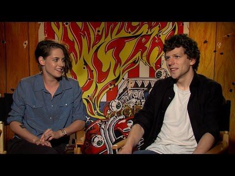 Kristen Stewart and Jesse Eisenberg On Marijuana, Awkward Interviews, and More