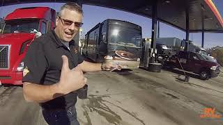 RV TRAINING - Getting DIESEL at a truck stop!