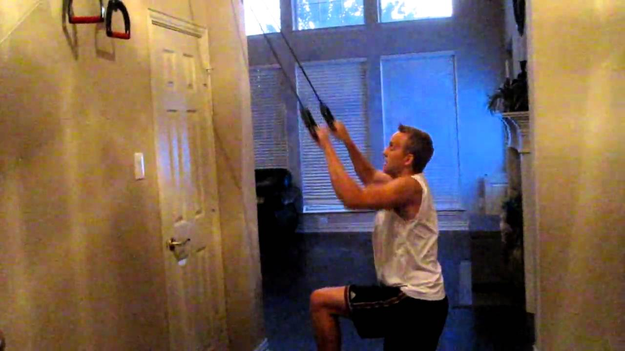 P90x Pull Ups With A Resistance Band Youtube