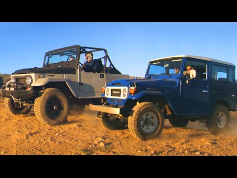 1983 Toyota Land Cruiser FJ vs. ICON 4x4 FJ - Fifth Gear