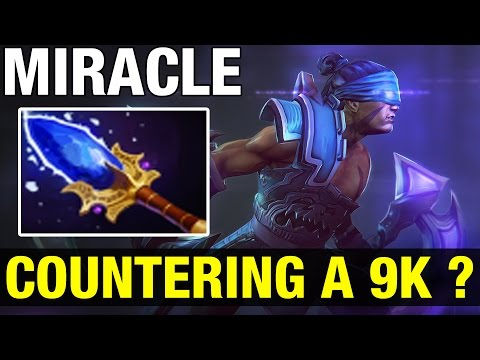 TRYING TO COUNTER MIRACLE ?? - Anti-Mage WITH AGHANIM - Dota 2