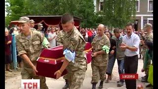 На Буковині попрощалися із 26-річним бійцем 93 механізованої бригади - (видео)