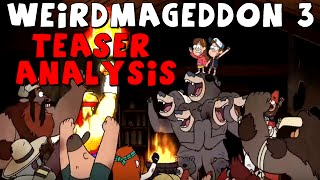 Gravity Falls: The Town FIGHTS BACK - Weirdmageddon III Teaser Analysis