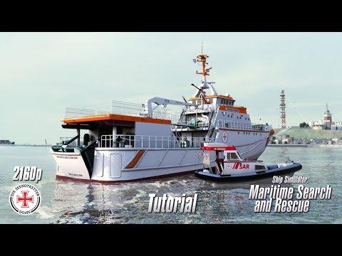 Ship Simulator: Maritime Search and Rescue | Tutorial | 4K 2160p