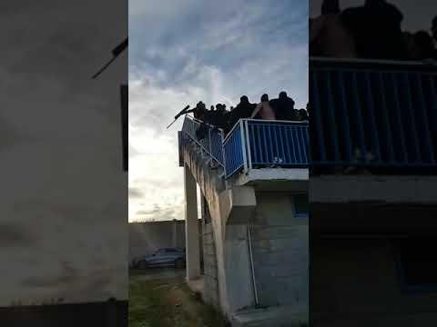 VIDEO RACCAPRICCIANTE. TAFFERUGLI TRA SAN FERDINANDO-IDEALE BARI