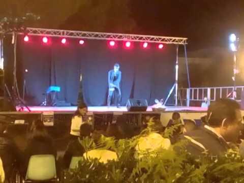 Giovanni Jackson - Impersonator Michael Jackson - Dangerous live a Falcone ( ME )