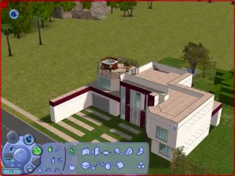 casa moderna sims 2 youtube