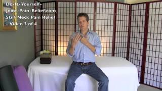 Stiff Neck Pain Relief - Video 3 of 4