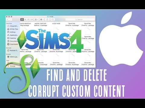 HOW TO: Locate and Delete Corrupt Custom Content on a MAC   Simology
