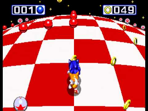 Sonic the Hedgehog 3 - Sega Genesis - fourth emerald and a perfect score (all rings collected) - User video
