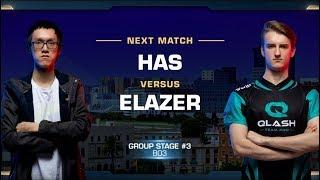 Has vs Elazer PvZ - Group Stage - WCS Valencia 2018 - StarCraft II