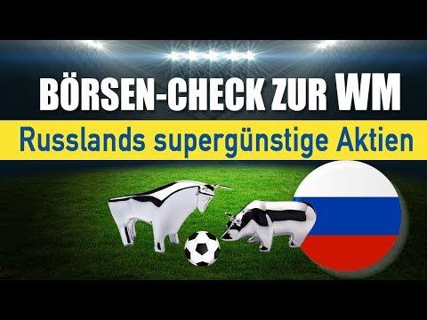 Börsen-Check zur WM: Russlands supergünstige Aktien
