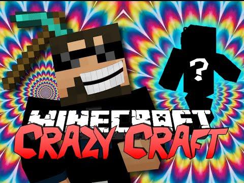 Minecraft CRAZY CRAFT 2.0 | FINDING SOMETHING!? [1]