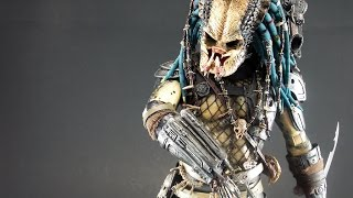Elder predator Hot toys 1/6 review en español