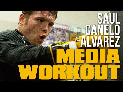 Saul Canelo Alvarez House of Boxing Workout Image 1