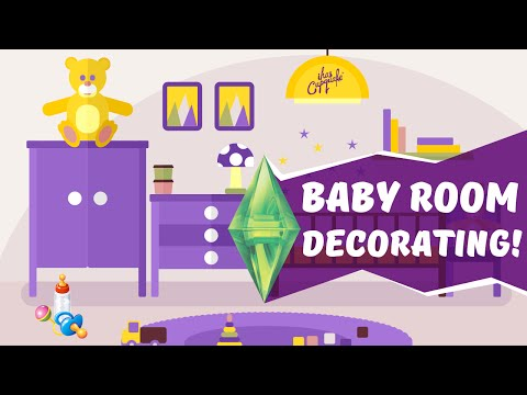 Decorating the baby room sims 3 ever after ep 19 games for Baby room decoration games