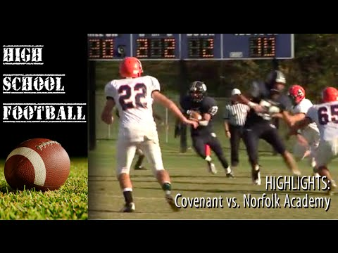 Game of the Week Highlights: Norfolk Academy at Covenant - 09/08/2014