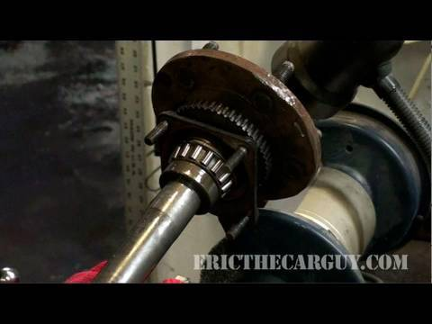 How To Remove Pressed-on Bearings - EricTheCarGuy