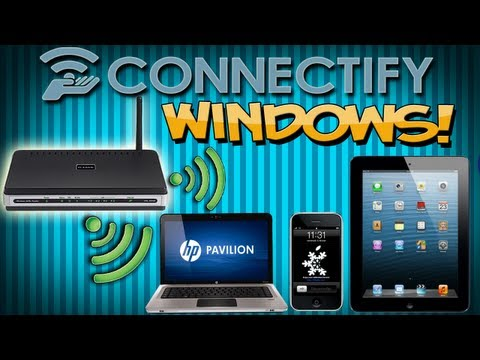 WIFI con Windows/Xp/Vista/7/8 [Comparte Internet por Wifi desde tu Pc