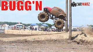 BUGG'N VW BUG Mega Truck Airing Out At Mid Michigan Mudfest 2019