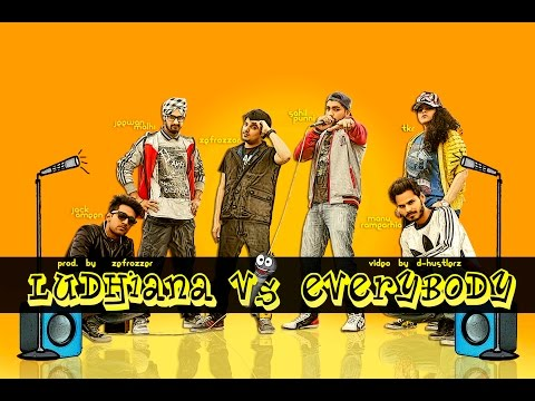 Ludhiana V.s Everybody | Rap Cypher (prod. By Zefrozzer) | D-hustlerz | New Indian Rap Song 2015 video