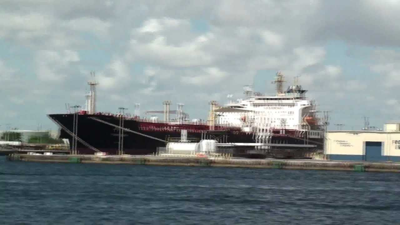 Ft Lauderdale Cruise Ships  July 24 2011 Part 1 Of 2