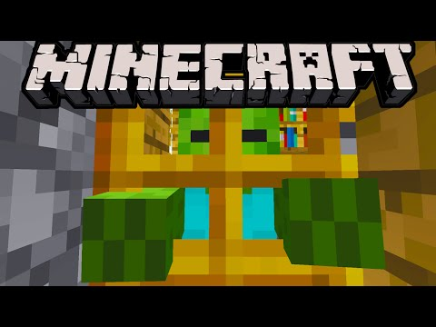 Minecraft 1.8 New Zombie Leader Secret Rare Mob! Safer Villagers & Zombie Door Break Nerf