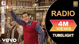 RADIO SONG - Lyric Video | Salman Khan | Pritam| Kamaal Khan| Amit Mishra| Kabir Khan